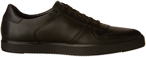 Clarks Men's Calderon Speed Sneaker Black Leather nicekicks sale online Xxsgk4