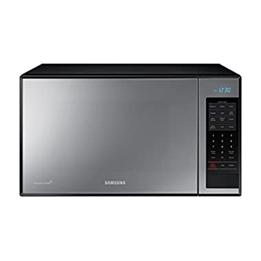 Samsung Counter Top Grill Microwave, 1.4 Cubic Feet, Black with Mirror Finish
