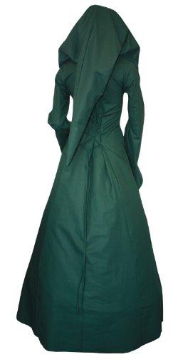 Kleid Delia 34 Mittelalterkleid K69 Gothic Gr LARP Gewand Mittelalter 56xwUqxY