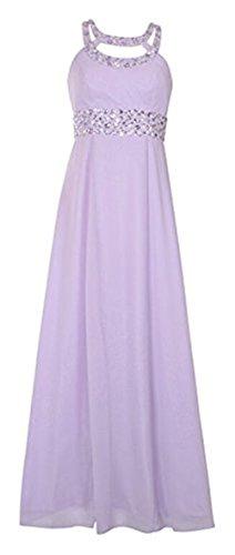 Lilac Langes BRIDE Empire Ballkleid Abendkleid Strassteinchen Sexy Damen abendkleider GEORGE SzpvMTqv
