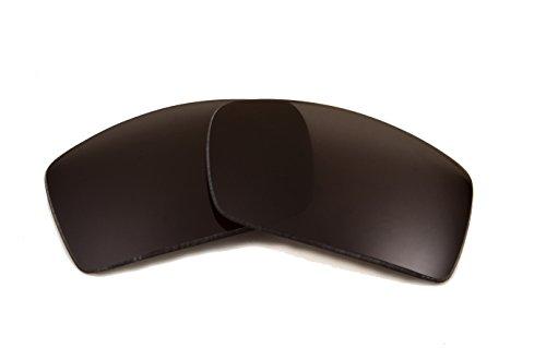 (Replacement Lenses Compatible with VON ZIPPER Clutch Polarized Advanced Black)