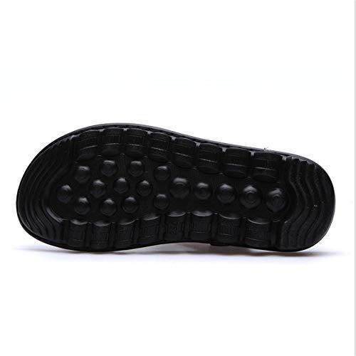 24 pantofole Estive 0 Aperta Scarpe All'aria Wagsiyi CM Scarpe Sport Sandali Pelle Uomo Sandalo spiaggia Con da 0 Da Per Marrone 27 In dtd6Tqw
