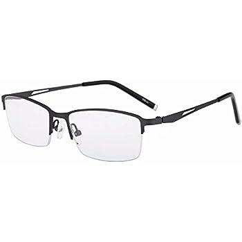 7a390995d4 Half Rim Bifocal Reading Glasses +1.75 Strength Metal Frame Bifocals Mens  Womens Readers Brown Frames Spectacles