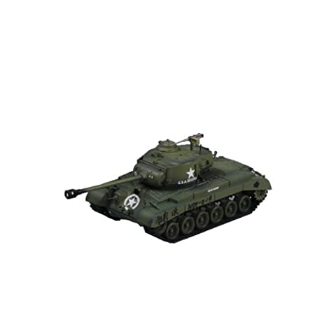 Easy Model M26 Pershing #9 Co. A 18th Bat, 8 Armored Div. Military Land Vehicle Model Building Kit (Military Vehicles 1 18)