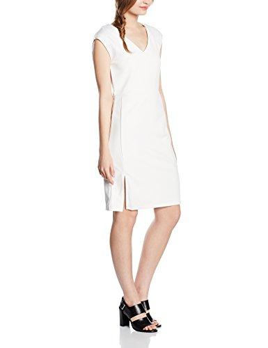 Cortefiel VEST P/P MICRPIQUE - Vestido para mujer Beige