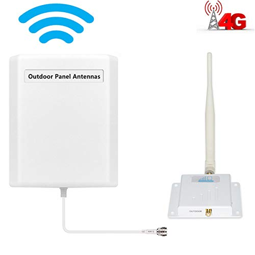 Cell Phone Signal Booster Verizon 4G LTE Cell Booster HJCINTL FDD High Gain 700MHz Band13 Wireless Signal Boosters Home Mobile Phone Signal Booster - Extender Signal Verizon
