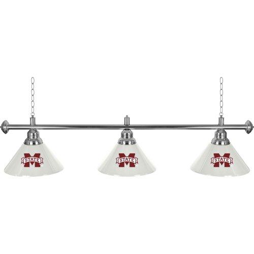 Trademark Gameroom Mississippi State 3 Shade Billiard Lamp ()