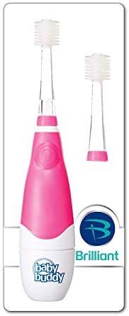Baby Buddy Sonic 360 Zahnbürste mit über 20.000 weichen Borsten für effektive, keine Verletzungen, Schallbürsten für Kinder