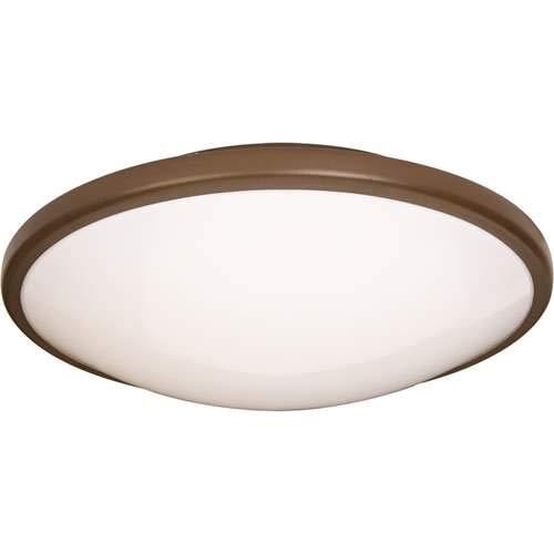 Maxim Lighting Rim Oil Rubbed Bronze 1-Light Flush Mount Light 87210OI ()
