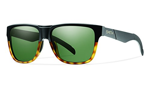 Smith Optics Lowdown Sunglass with Carbonic TLT Lenses, Matte Black Fade Tortoise/Gray Green (Sunglasses Lowdown Smith)