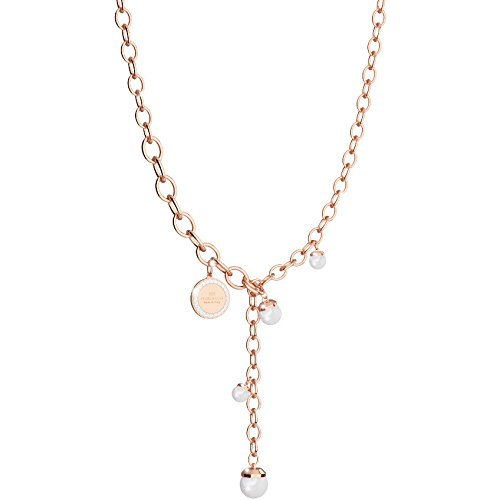 Collier Femme Bijoux Rebecca Hollywood Pearl Casual Cod. bhokrr33
