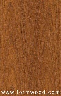 (Uniformwood Teak Wood Veneer Qtd Cut 4'x8' 10 mil(Paperback) Sheet Pattern D001)