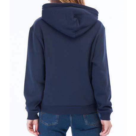 Felpa Tommy blu Jeans blu scuro logo donna con Pw8SxrPqp