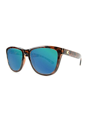 Knockaround Premiums Polarized Sunglasses, Glossy Tortoise Shell / Green - Sunglasses Cheap Knockaround