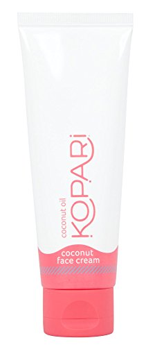 Kopari Coconut Face Cream - Lightweight Face Lotion and Daily Face Moisturizer Rich in High Concentrations of Vitamins, Minerals and Antioxidants With 100% Organic Coconut Oil, Non GMO 2.5 Oz