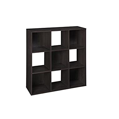 ClosetMaid 8937 Cubeicals 9-Cube Organizer, Espresso