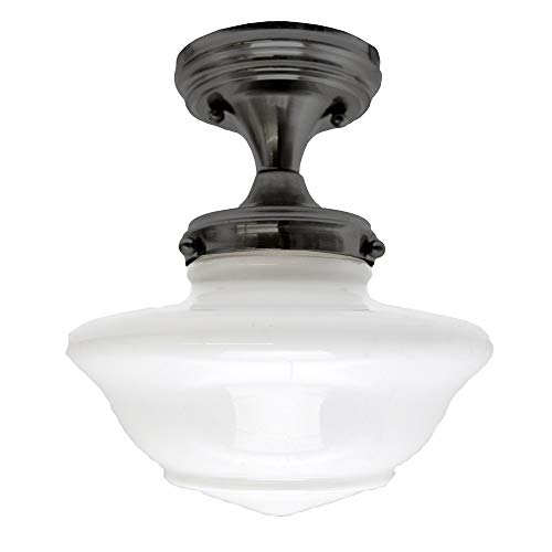 Design House 577502 Schoolhouse 1 Light Ceiling Light