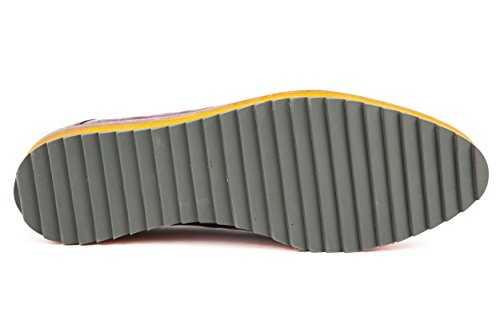 charol amp; morado mujer Hamilton para de Zapatos 37 morado Melvin de cordones YZTTwq