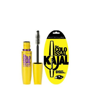 ab57153d02e Maybelline Colossal Kajal And Mascara: Amazon.in: Beauty
