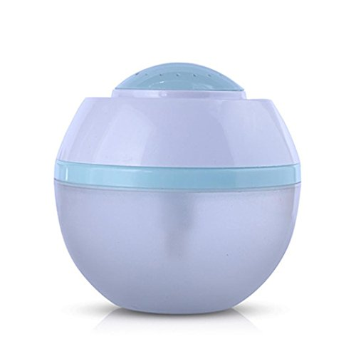 Matoen 500ml USB Air Aroma Humidifier Ultrasonic LED 7 Color Changing Essential Oil Diffuser - Changing Eyeglasses Color
