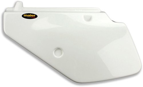 Maier Side Panels White for Suzuki DR 250S 350S 90-99 (Side Suzuki Panels)