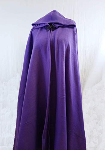 db1afcddf1 Amazon.com  Unisex Fleece Cloak - Full Length Full Circle Hooded Winter Cape   Handmade