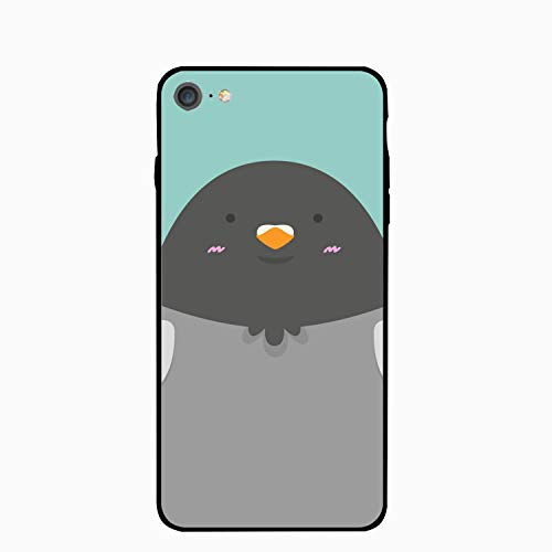 (Personalized Cute Big Fat Pigeon Bird iPhone 6/6s Case for [4.7 inch])