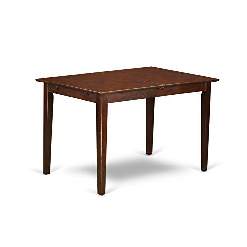 315L 3zOS5L - East West Furniture PSNO5-MAH-C 5-Piece Dinette Table Set