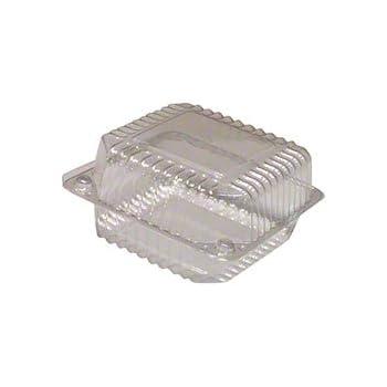 5 Medium Square Hinge Container 12 ct.