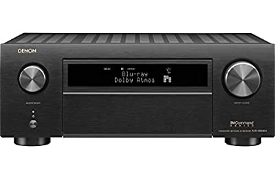 Denon AVR-X6500H Receiver - 8 HDMI in /3 Out, High Power 11.2 Channel (140 W/Ch) Amplifier Home Theater Dolby Surround Sound, Music Streaming with Alexa + HEOS | Audyssey MultEQ Advanced Calibration
