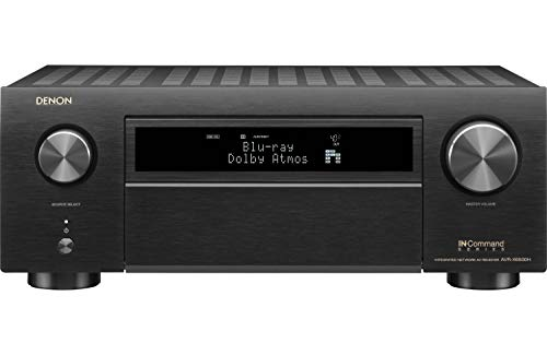 Denon AVR-X6500H Receiver - 8 HDMI in /3 Out, High Power 11.