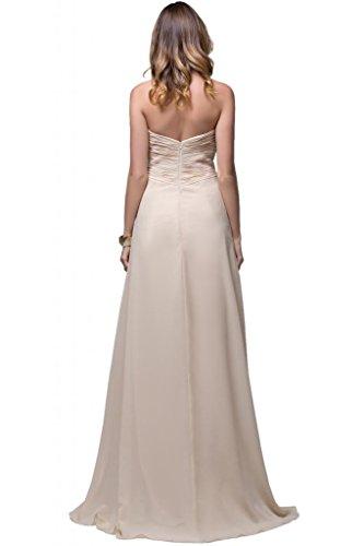 sunvary modesto Mujeres Corto satén vaina dama Pageant vestidos Rosso