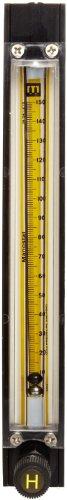 (Bel-Art Riteflow Aluminum Mounted Flowmeter; 150mm Scale, Size 4 (H40407-0215))