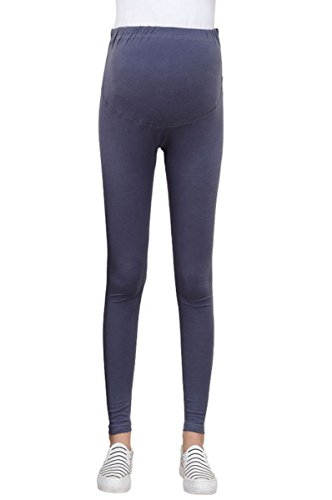 Womens-Cotton-Maternity-Leggings-Breathable-Adjustable-Belly-Support-Pants