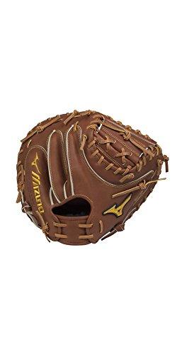 Mizuno Pro Catchers - Mizuno Pro Limited Edition Catcher's Mitt, Chestnut, 33.5