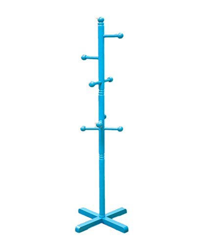 (Frenchi Home Furnishing  Kid's Coat Rack Blue finish )