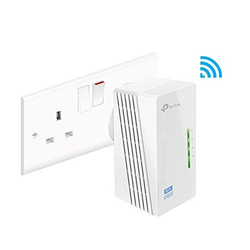 TP-Link TL-WPA4220 300Mbps AV500 WiFi Powerline Extender (Best Wifi Booster Uk)