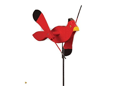- Whirlybird Cardinal Lawn Decoration Amish-made
