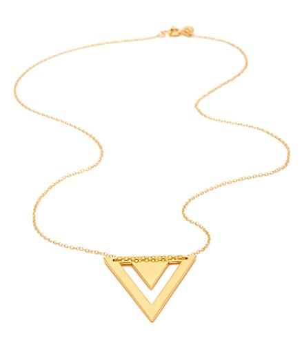 gorjana Mika Mika Pendant Necklace (Yochi Necklace Silver)