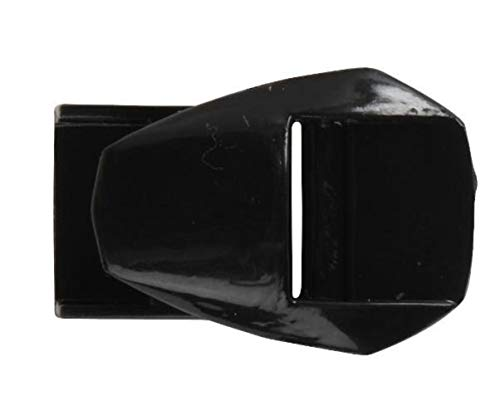 Fox Racing Comp 5 Strap Pass (Buckle Strap Receiver) Black No ()