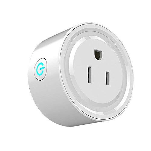 Enchufe Inteligente con Wi-Fi, Smart Plug, Toma de Corriente Inalámbrica temporizador de salida,...