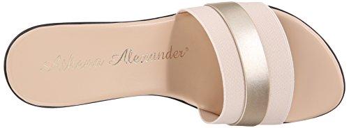 Athena Alexander Womens Brandy Slide Sandaal Beige