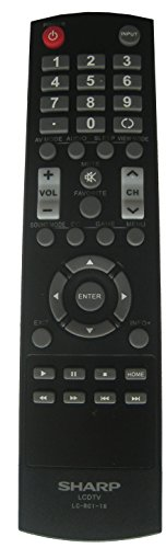 Sharp LCDTV LC-RC1-16 LCRC116 Remote Control for Models LC-50LB370U LC-32LB370U LC-32LB370 LC-32LB261U LC-42LB261U LC-50LB261U LC-32LB150U LC-42LB150U LC-50LB150U LC-43LB370U and Others. (Lcdtv Control Sharp Remote)