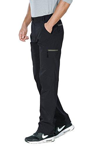 Unitop Men's Hiking Breathable Pant Black-25 30-31
