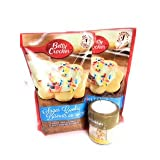Betty Crocker Sugar Cookie Mix 2 Pack with Wilton Gold and White Sprinkles