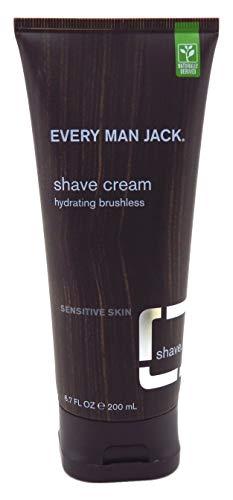 Every Man Jack Sensitive Skin Shave Cream - 6.7 oz - 2 pk (Shave Conditioning Beard Lube)