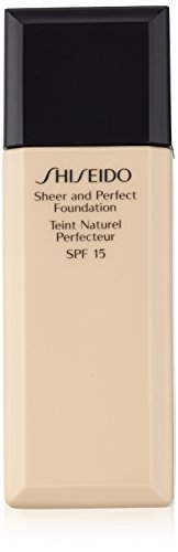 Shiseido Sheer and Perfect Foundation SPF 15, No. O40 Natural Fair Orchre, 1 Ounce ()