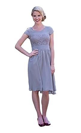 5947705011c Mikarose Women s Isabel Modest Dress at Amazon Women s Clothing store