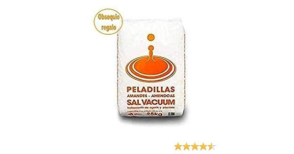 Sal para descalcificador 25Kg Saco peladillas, más 1Kg Sal para lavavajillas de Regalo