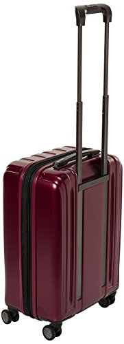Delsey Luggage Helium Titanium Carry-On EXP Spinner Trolley Red, Black Cherry, One Size by DELSEY Paris (Image #2)